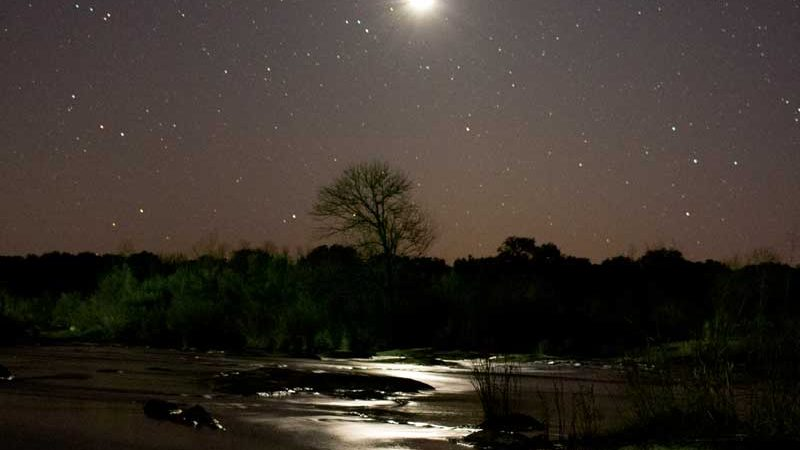 Stargazing in the Highland Lakes
